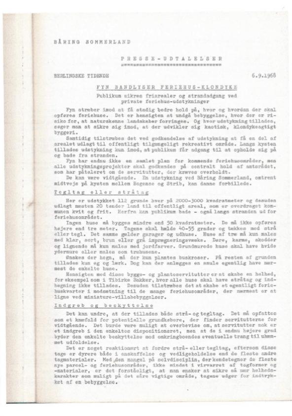 Presseomtale (1968)