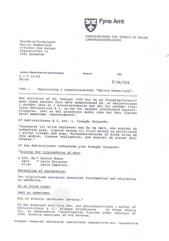 beplantning-i-sommerhusomraadet-baaring-sommerland-1989
