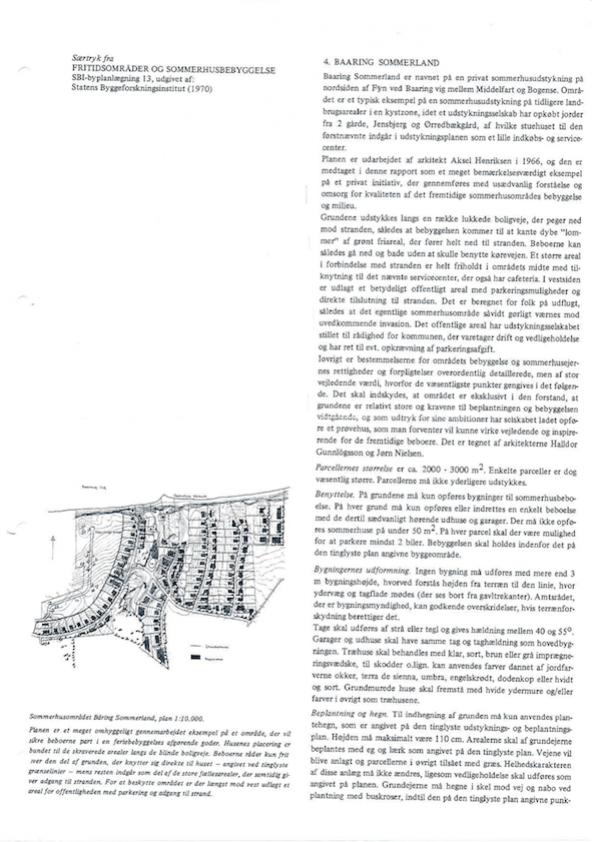 Statens byggeforskningsinstitut Baaring sommerland 1970